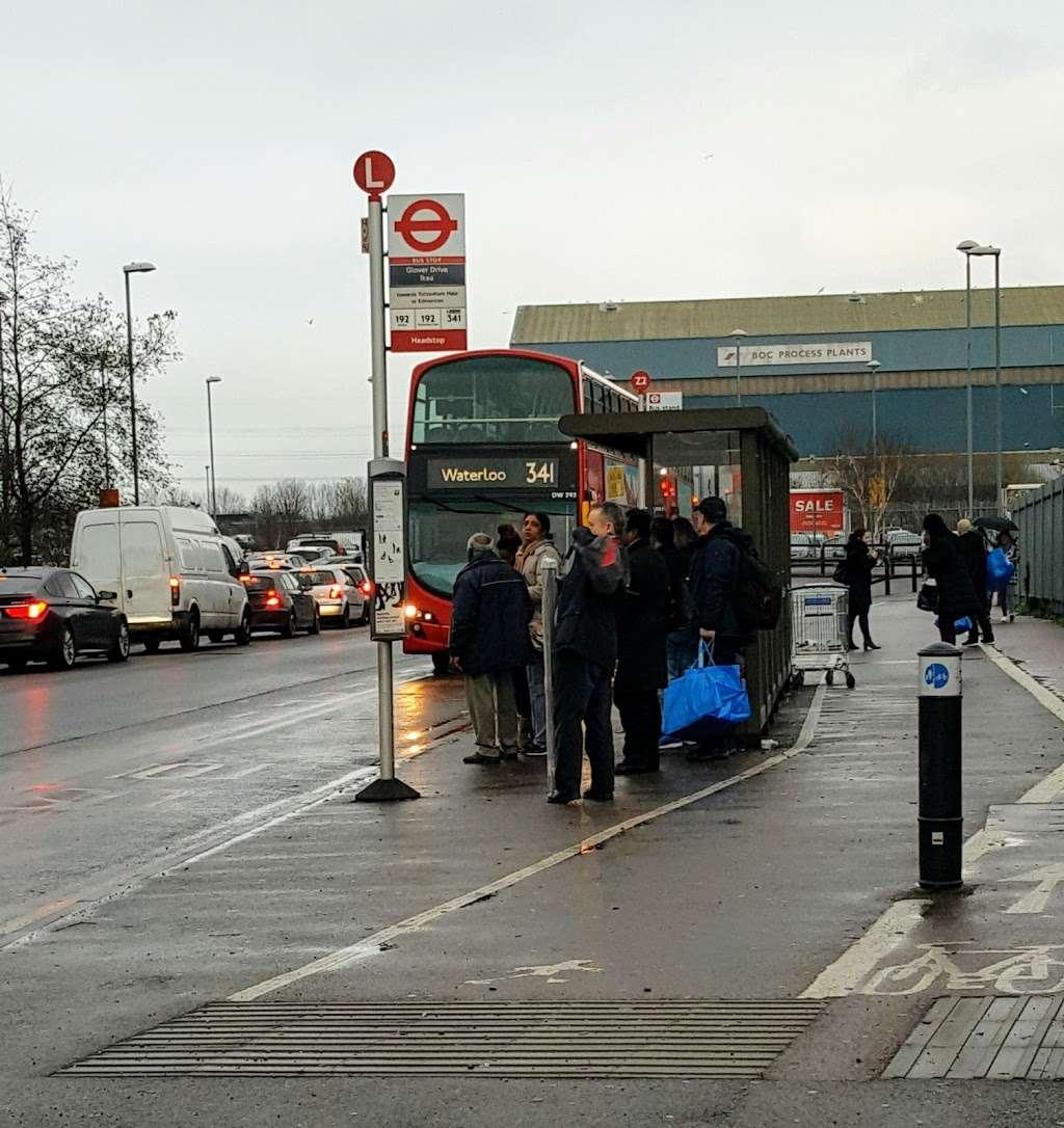 Glover Drive Ikea (Stop L) - bus station  | Photo 6 of 6 | Address: London N18 3HF, UK