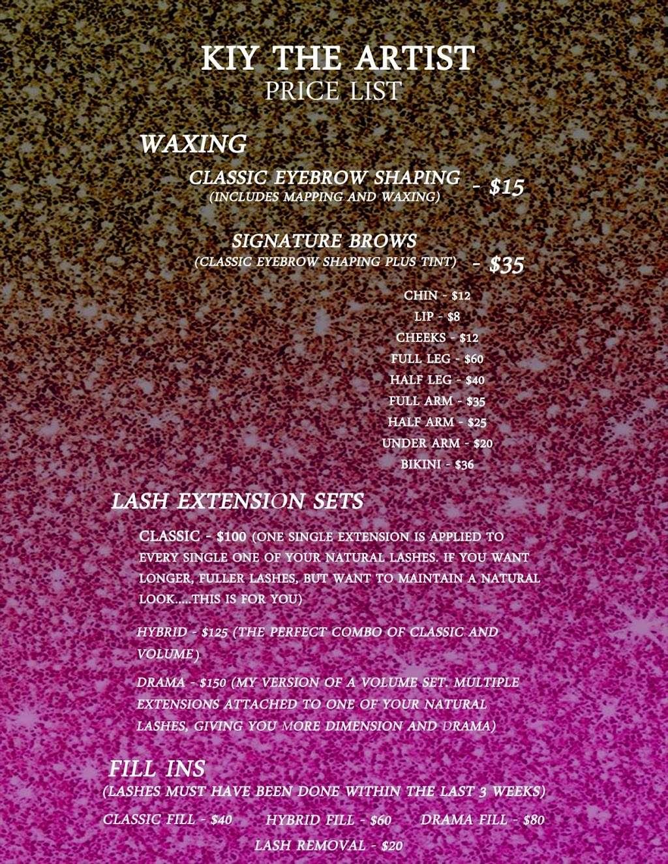 KiytheArtist's Lashes & Waxes - hair care  | Photo 6 of 6 | Address: Lake Ave, Williamstown, NJ 08094, USA | Phone: (856) 236-1920