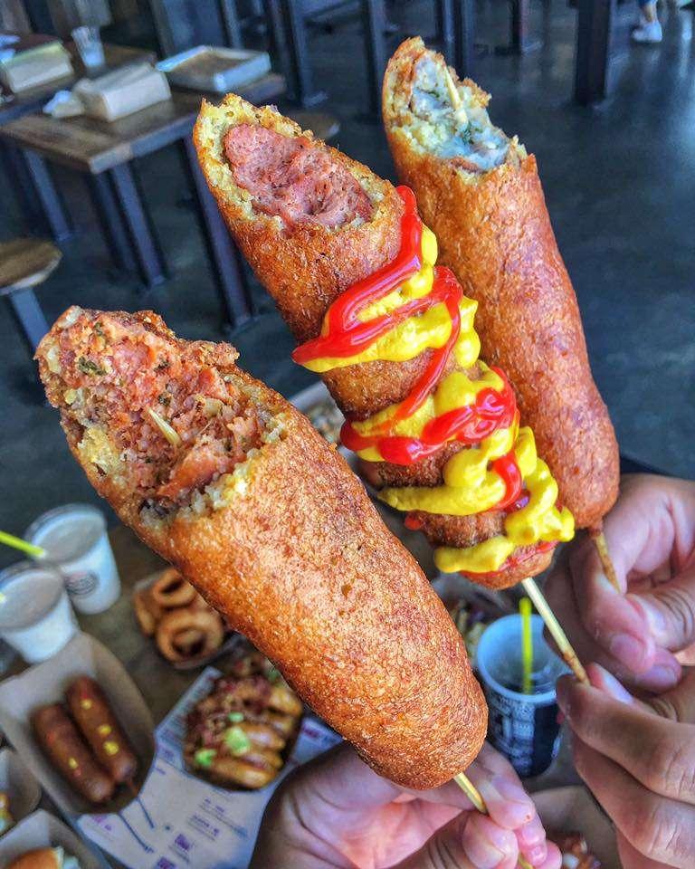 Dog Haus Biergarten Claremont - meal takeaway  | Photo 10 of 10 | Address: 2209 E Base Line Rd Ste 700, Claremont, CA 91711, USA | Phone: (909) 931-0404