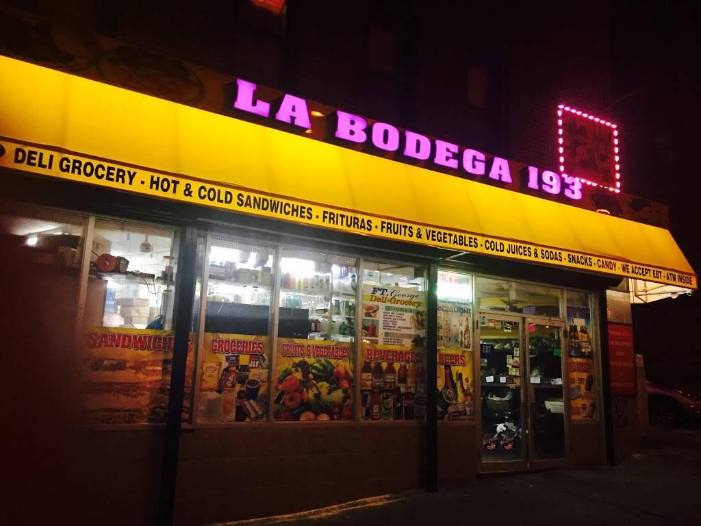 LA BODEGA 193 - store  | Photo 1 of 7 | Address: 124 Fort George Ave, New York, NY 10040, USA | Phone: (212) 927-1007