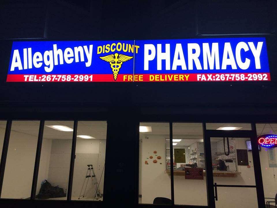 ALLEGHENY DISCOUNT PHARMACY - pharmacy    Photo 2 of 2   Address: 2704 W Allegheny Ave, Philadelphia, PA 19132, USA   Phone: (267) 758-2990