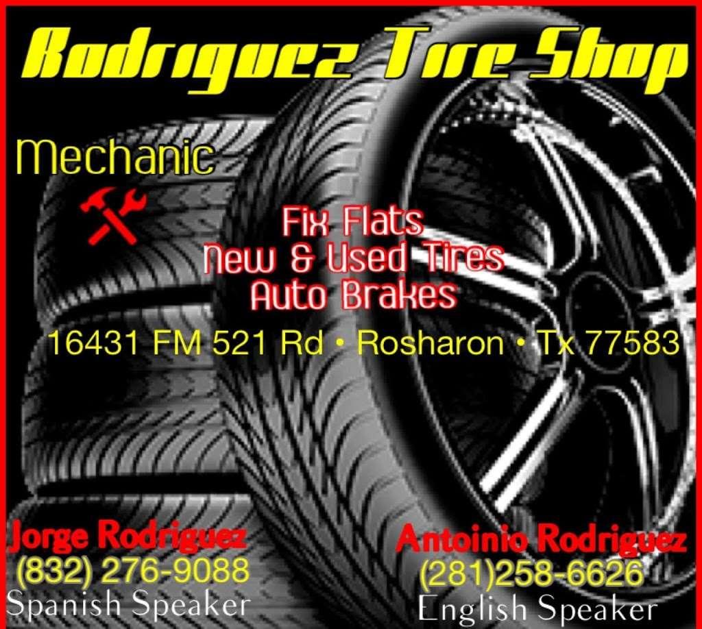 Rodriguez Tire shop - car repair  | Photo 5 of 8 | Address: 16431 FM 521 Rd, Rosharon, TX 77583, USA | Phone: (832) 894-2732