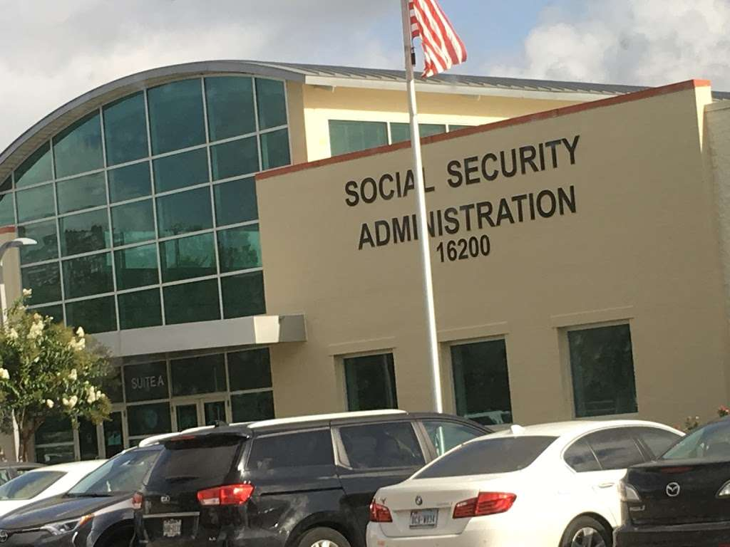 Social Security Administration - local government office    Photo 2 of 10   Address: 16200 Dillard Dr, Jersey Village, TX 77040, USA   Phone: (800) 772-1213