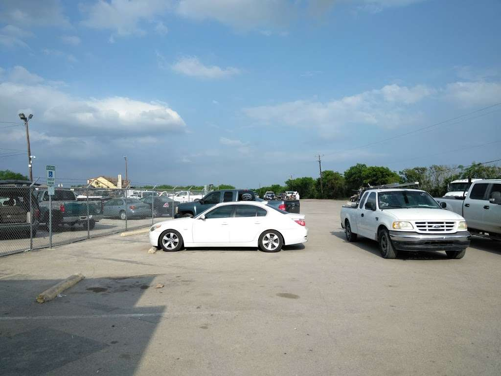 City Of San Antonio Vehicle Impound Facility Storage