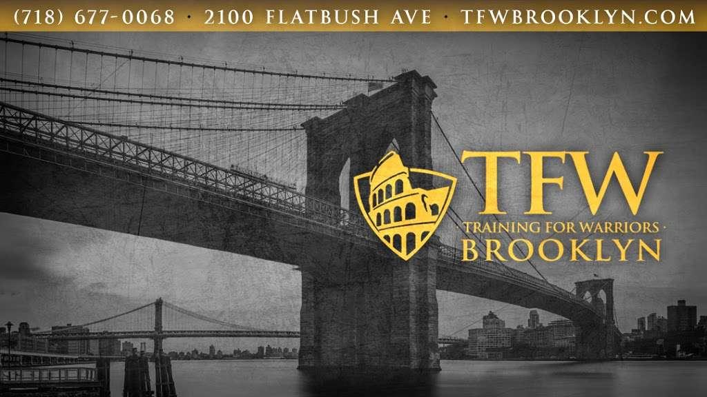 TFW Brooklyn - gym    Photo 1 of 5   Address: 2100 Flatbush Ave, Brooklyn, NY 11234, USA   Phone: (718) 677-0068