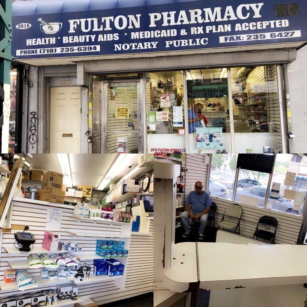 Boca Pharmacy - pharmacy    Photo 2 of 3   Address: 2818 Fulton St, Brooklyn, NY 11207, USA   Phone: (718) 235-6394