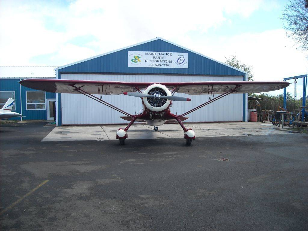 Overall Aircraft Services LLC - store  | Photo 2 of 8 | Address: 53690 Airport Rd, Scappoose, OR 97056, USA | Phone: (503) 543-6330