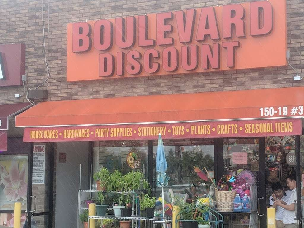 Boulevard Discount - home goods store    Photo 10 of 10   Address: 15019 Cross Bay Blvd #3, Ozone Park, NY 11417, USA   Phone: (718) 322-6688