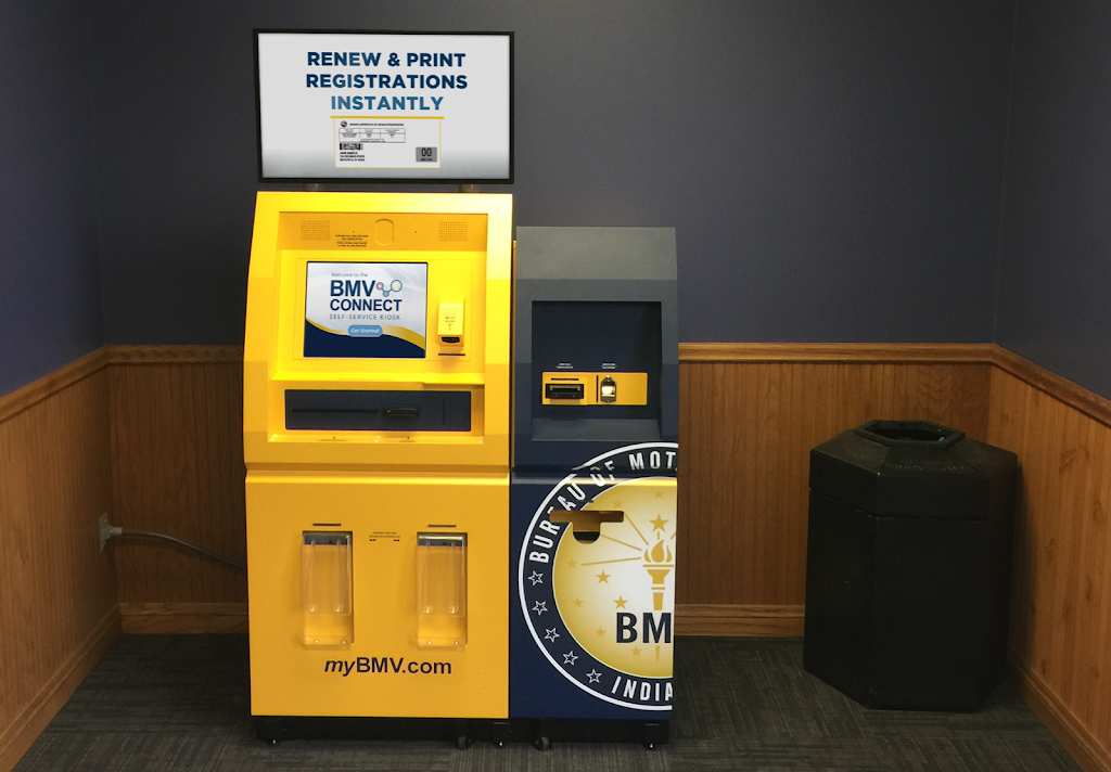 BMV Connect Kiosk - local government office  | Photo 1 of 2 | Address: 1038 E Ridge Rd, Griffith, IN 46319, USA | Phone: (260) 408-1900