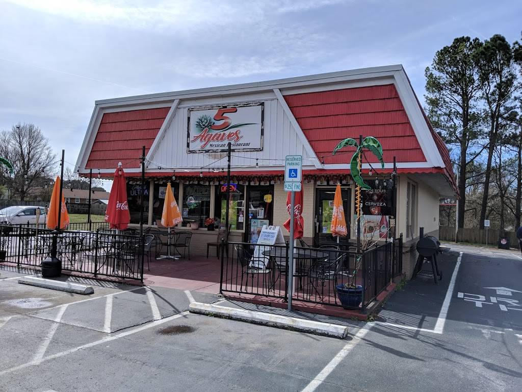 5 Agaves - restaurant  | Photo 1 of 10 | Address: 1508 Robinson Rd, Old Hickory, TN 37138, USA | Phone: (615) 894-7222