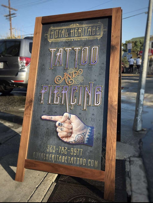 Royal Heritage Tattoo & Piercing - jewelry store  | Photo 4 of 10 | Address: 1515 Abbot Kinney Blvd, Venice, CA 90291, USA | Phone: (323) 782-9977