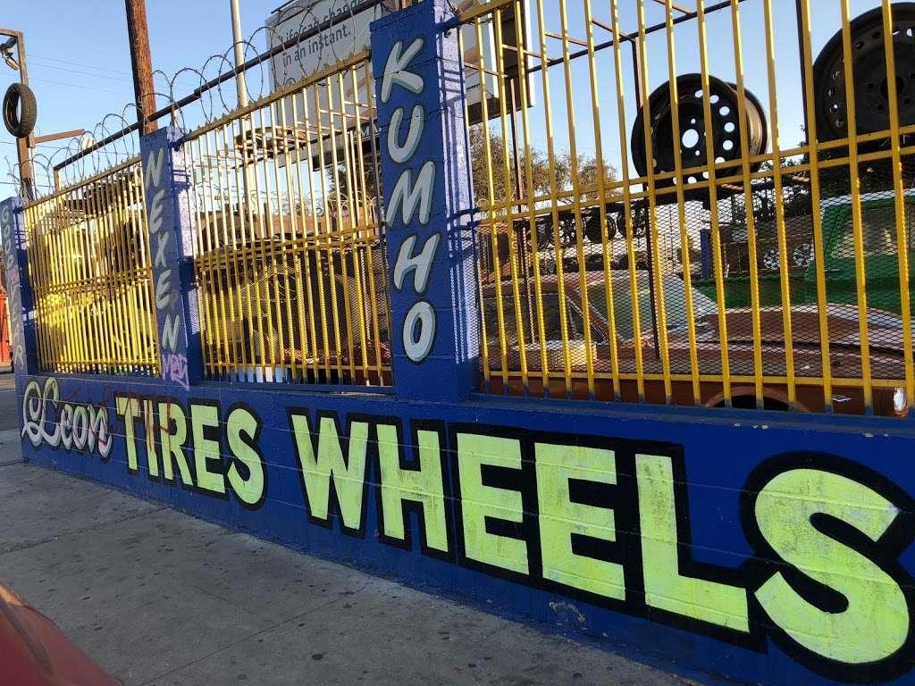 Leon Tires & Wheels - car repair  | Photo 4 of 10 | Address: 8431 S Main St, Los Angeles, CA 90003, USA | Phone: (323) 456-5405