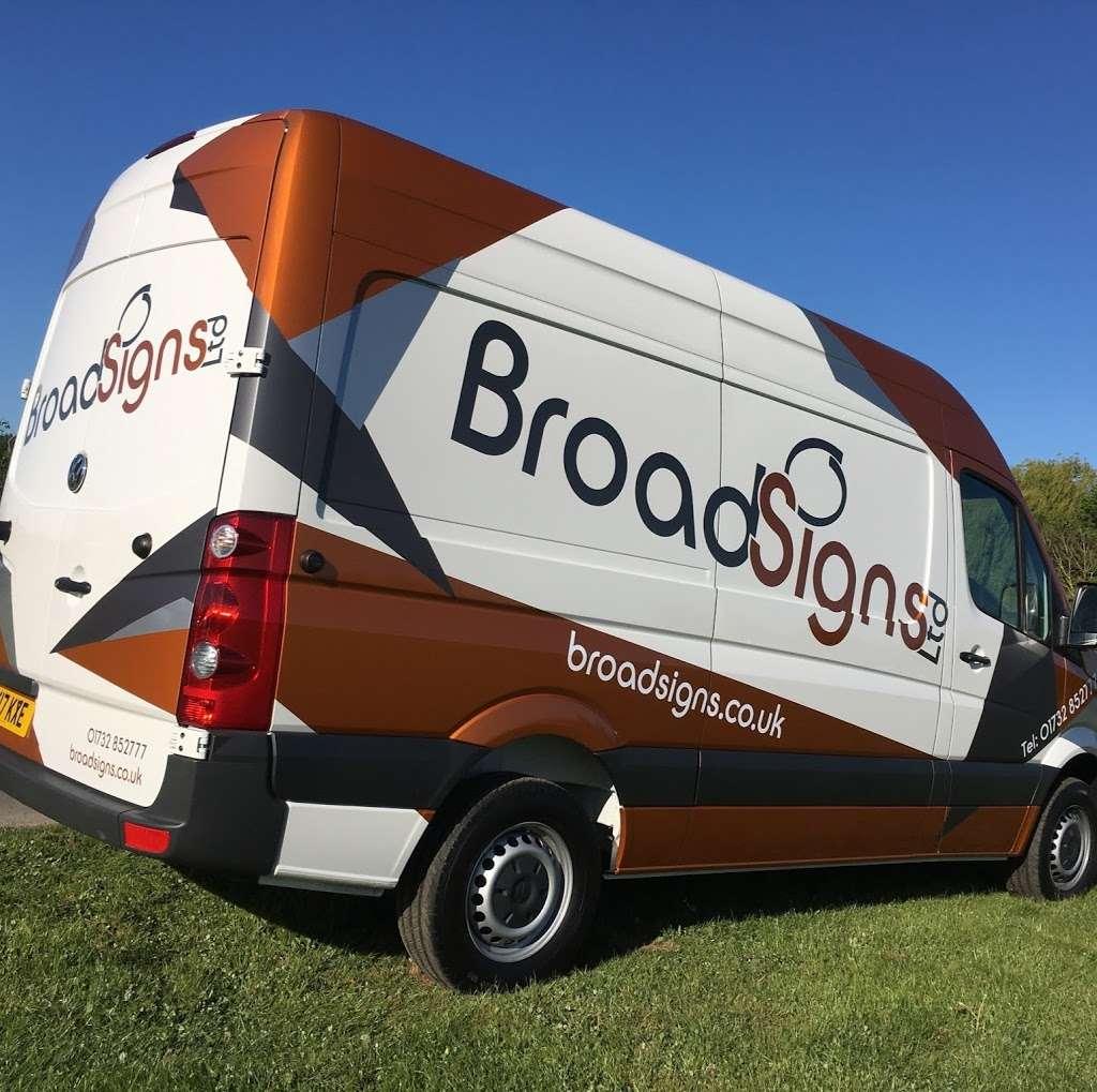 Broad Signs Ltd - store    Photo 1 of 1   Address: 12 The Old Steamhouse, Goblands Farm Business Centre, Cemetery Lane, Tonbridge TN11 0LT, UK   Phone: 01732 852777
