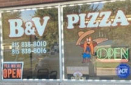 B & V Pizza - meal delivery    Photo 6 of 10   Address: 14508 Archer Ave, Lockport, IL 60441, USA   Phone: (815) 838-8010