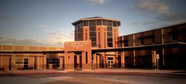 Dr. John Folks Middle School - school  | Photo 6 of 8 | Address: 9855 Swayback Ranch, San Antonio, TX 78254, USA | Phone: (210) 398-1600