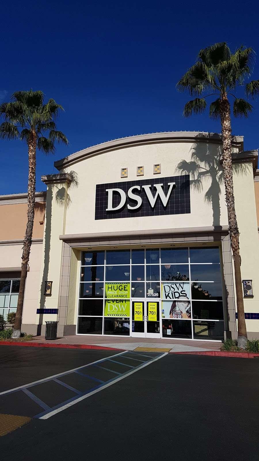 DSW Designer Shoe Warehouse, 27536 W