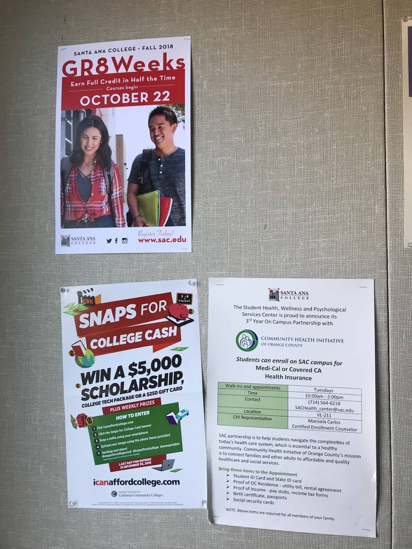 Santa Ana College Financial Aid Office - school  | Photo 3 of 6 | Address: VL-105 SAC Village 1530, W 17th St, Santa Ana, CA 92706, USA | Phone: (714) 564-6242