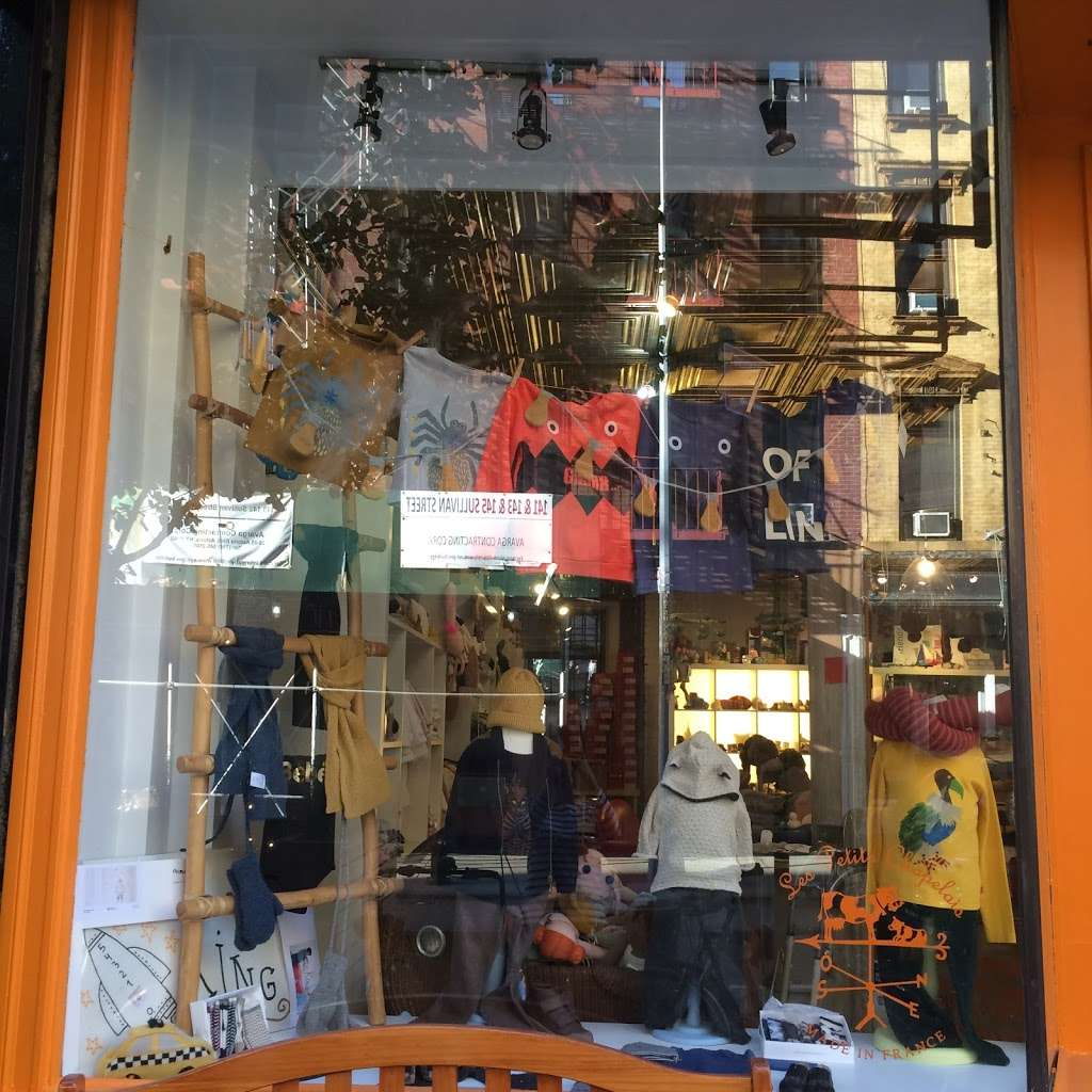 Les Petits Chapelais - clothing store  | Photo 7 of 10 | Address: 146 Sullivan St, New York, NY 10012, USA | Phone: (212) 625-1023