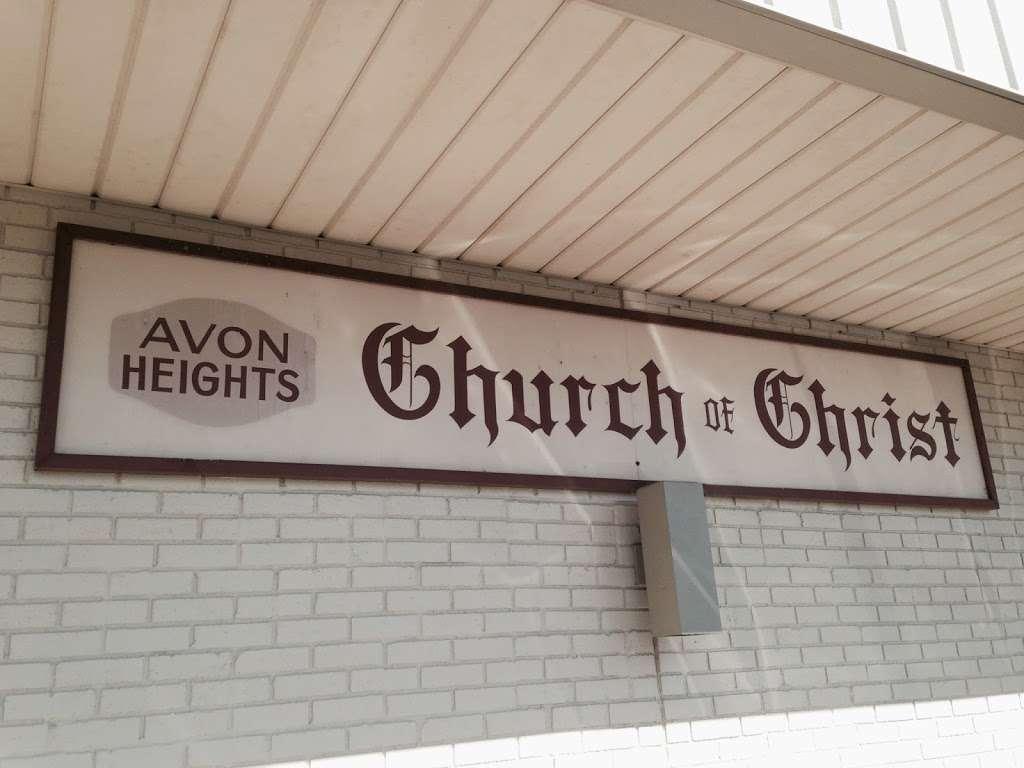 Avon Heights church of Christ - church    Photo 1 of 1   Address: 188 Avon Ave #105, Avon, IN 46123, USA   Phone: (317) 839-1716