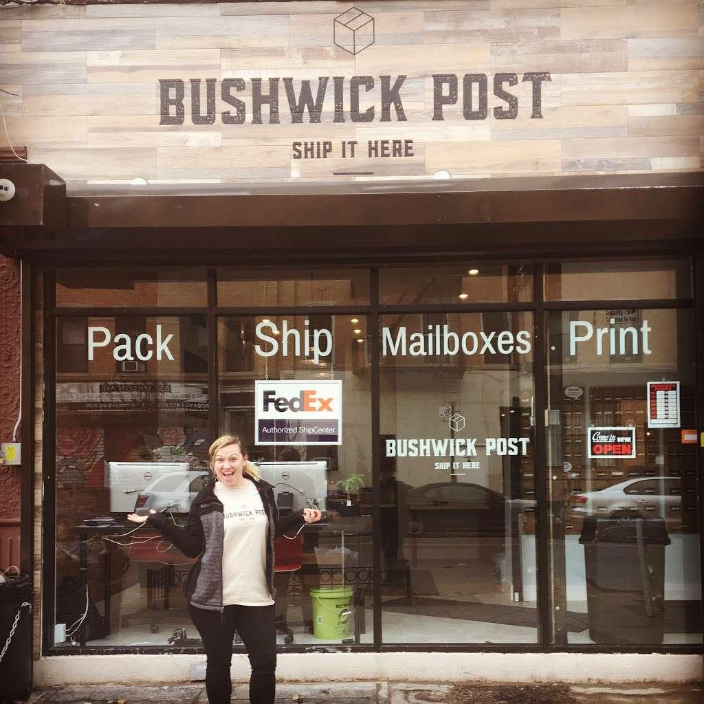 Bushwick Post - post office    Photo 7 of 10   Address: 620 Wilson Ave, Brooklyn, NY 11207, USA   Phone: (718) 676-4336