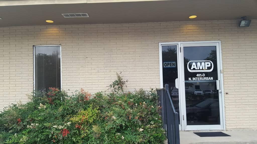 Audio Maintenance Professionals - electronics store    Photo 3 of 6   Address: 401-D N Interurban St, Richardson, TX 75081, USA   Phone: (469) 941-4860