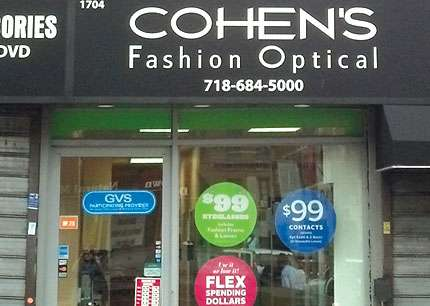 Cohens Fashion Optical - store  | Photo 5 of 7 | Address: 1704 Church Ave, Brooklyn, NY 11226, USA | Phone: (718) 684-5000