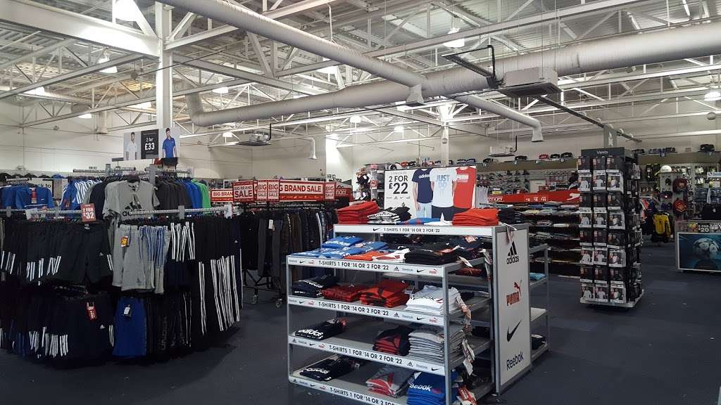 Sports Direct - shoe store    Photo 3 of 10   Address: Great Eastern Mills, King George Ave, Ilford IG2 7SH, UK   Phone: 0344 332 5409