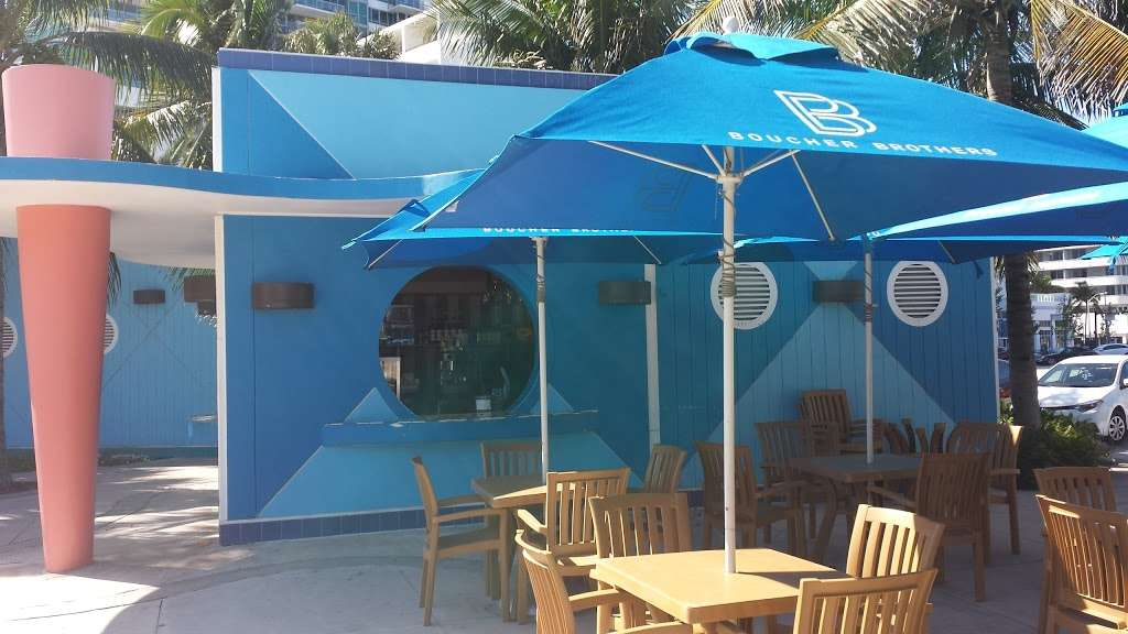 Boucher Brothers Salads & Shakers - cafe  | Photo 1 of 3 | Address: 2111 Miami Beach Dr, Miami Beach, FL 33139, USA