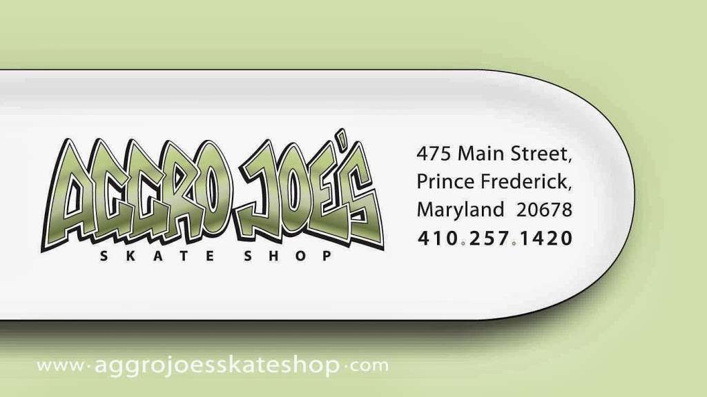Aggro Joes Skate Shop - store  | Photo 4 of 4 | Address: 3340, 475 Main St, Prince Frederick, MD 20678, USA | Phone: (410) 257-1420