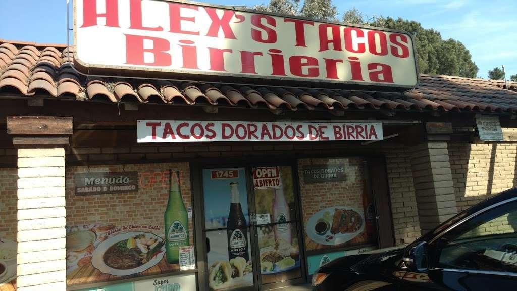 Alexs Tacos Birrieria - restaurant    Photo 3 of 10   Address: 1745 S Mountain Ave, Ontario, CA 91762, USA   Phone: (909) 443-8170