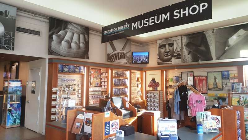 Statue Of Liberty Museum Store - store  | Photo 2 of 10 | Address: 1 Liberty Island - Ellis Island, New York, NY 10004, USA | Phone: (212) 363-3180