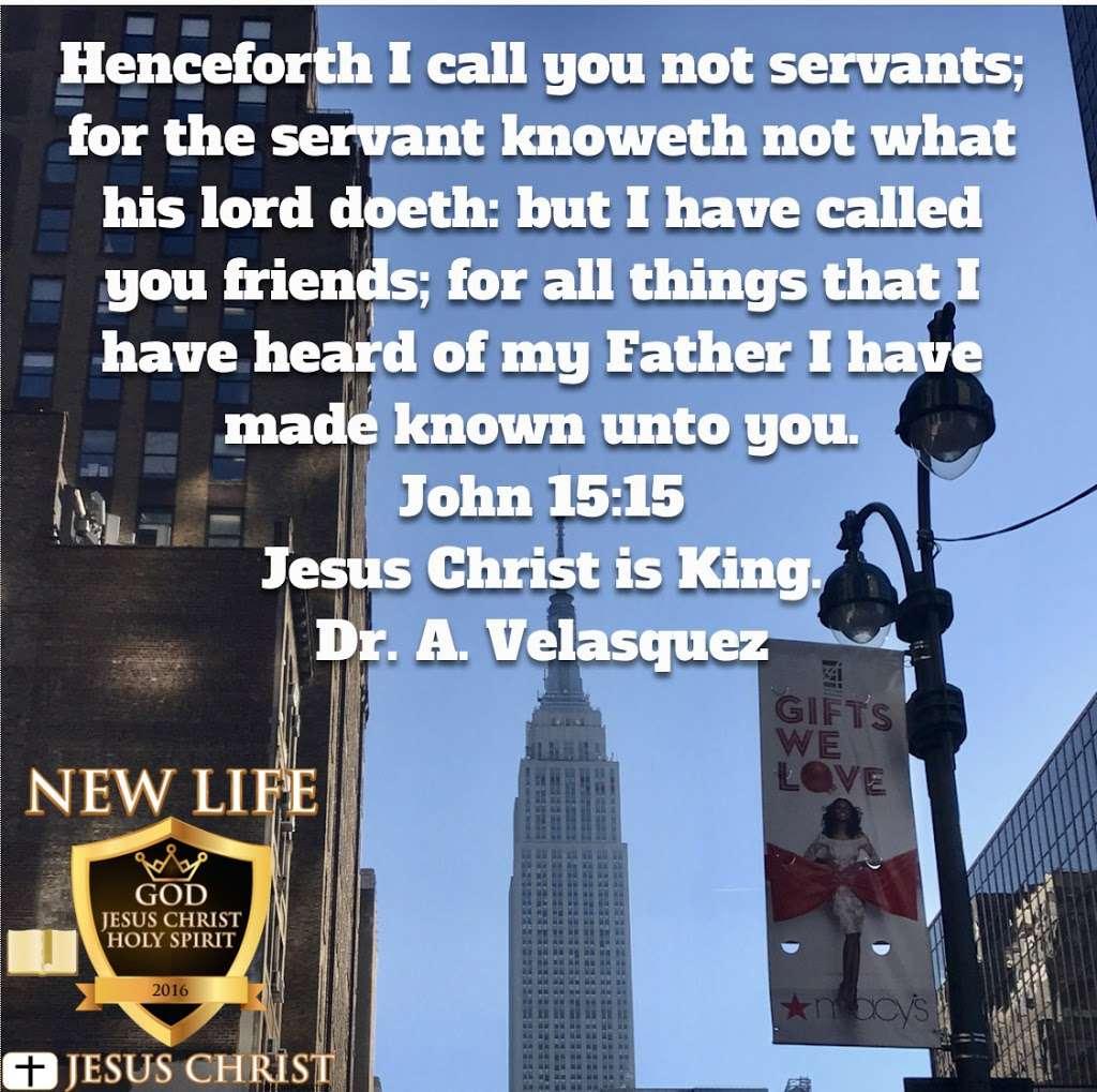 New Life Jesus Christ Inc. - church  | Photo 3 of 10 | Address: 2112 Fulton St #3l, Brooklyn, NY 11233, USA | Phone: (347) 971-3554