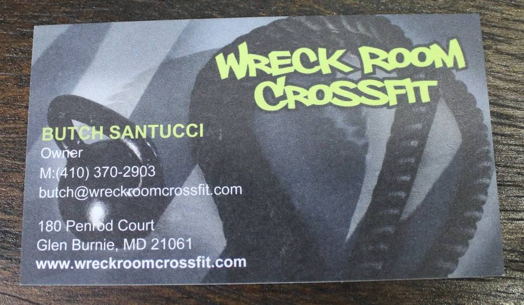 Glen Burnie Fitness and Nutrition: Home of Wreck Room CrossFit - gym  | Photo 8 of 8 | Address: 180 Penrod Ct suite d, Glen Burnie, MD 21061, USA | Phone: (443) 422-2779