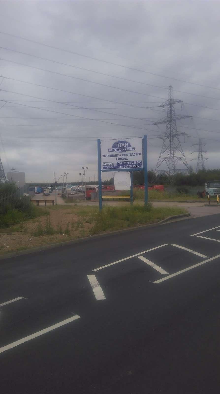 Titan Truck Park - parking    Photo 7 of 7   Address: Stoneness Rd, Grays RM20 3AG, UK   Phone: 01708 258500
