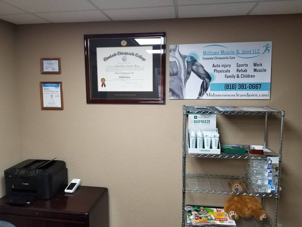 Midtown Muscle and Joint LLC - health  | Photo 5 of 5 | Address: 1711 Westport Rd #101, Kansas City, MO 64111, USA | Phone: (816) 381-0667