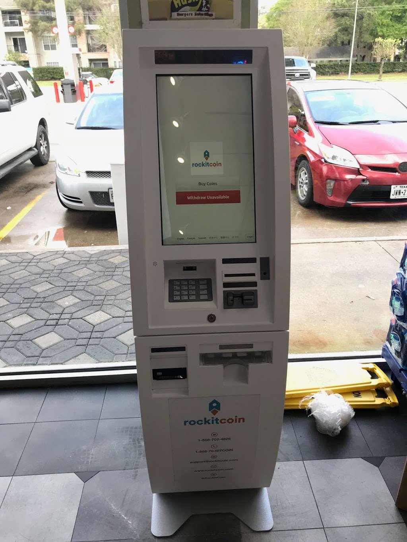 RockItCoin Bitcoin ATM - atm  | Photo 4 of 4 | Address: 455 Hollow Tree Ln, Houston, TX 77090, USA | Phone: (888) 702-4826