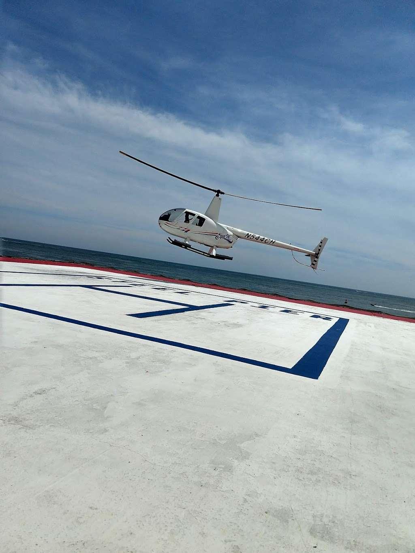 Steel Pier Helicopters - airport  | Photo 6 of 10 | Address: 1000 Boardwalk, Atlantic City, NJ 08401, USA | Phone: (732) 245-3306
