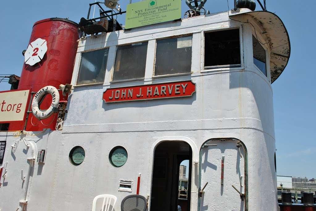 John J. Harvey Fireboat - store  | Photo 3 of 10 | Address: Hudson River Greenway, New York, NY 10005, USA