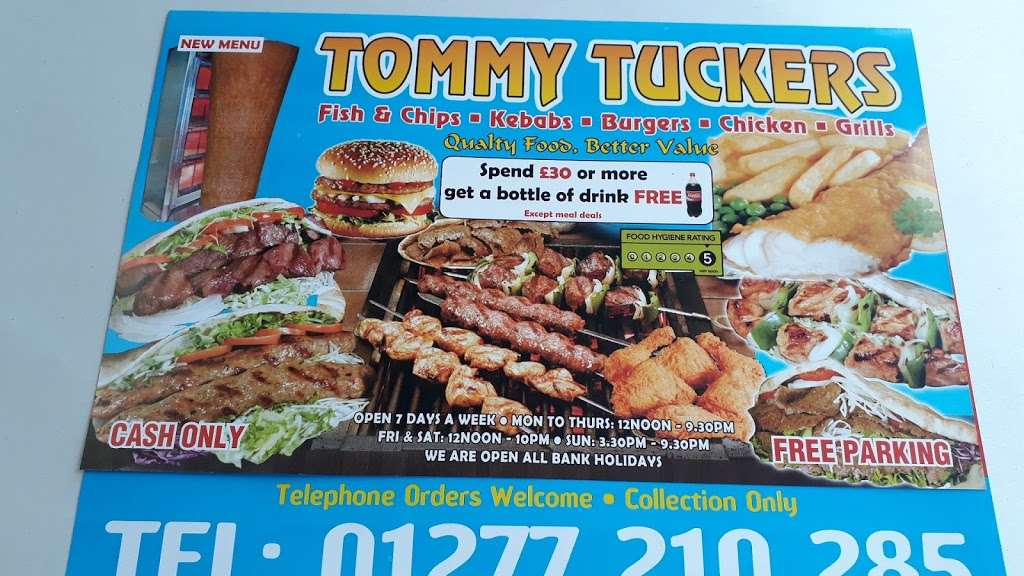 Tommy Tuckers - meal takeaway  | Photo 4 of 9 | Address: 23 Eastham Cres, Brentwood CM13 2BN, UK | Phone: 01277 210285