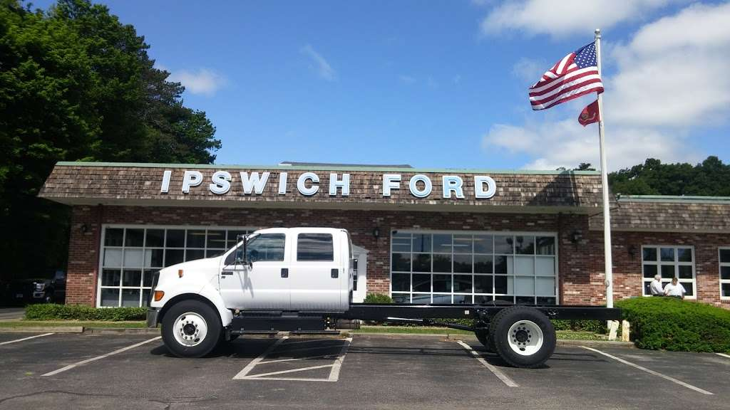 Ipswich Ford, Inc. - car repair    Photo 2 of 8   Address: 105 County Rd, Ipswich, MA 01938, USA   Phone: (978) 356-6850