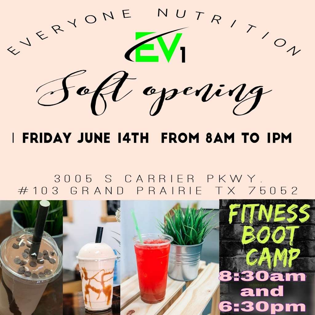 Everyone Nutrition, 3005 S Carrier Pkwy #103, Grand
