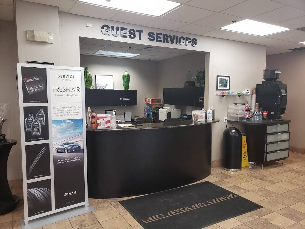Len Stoler Lexus Service Department - car repair  | Photo 6 of 6 | Address: 11311 Reisterstown Rd, Owings Mills, MD 21117, USA | Phone: (443) 487-5116