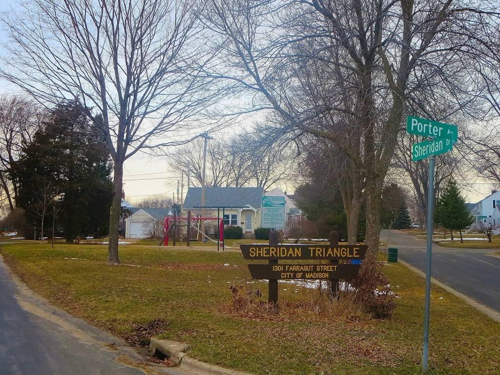 Sheridan Triangle Park - park    Photo 1 of 7   Address: 1301 Farragut St, Madison, WI 53704, USA   Phone: (608) 266-4711