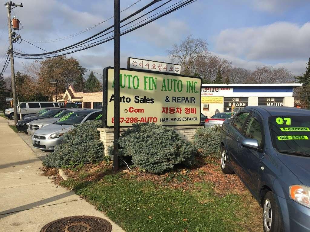Auto Fin Auto 123 Inc - car dealer    Photo 2 of 7   Address: 2020 E Euclid Ave, Mt Prospect, IL 60056, USA   Phone: (847) 298-2886
