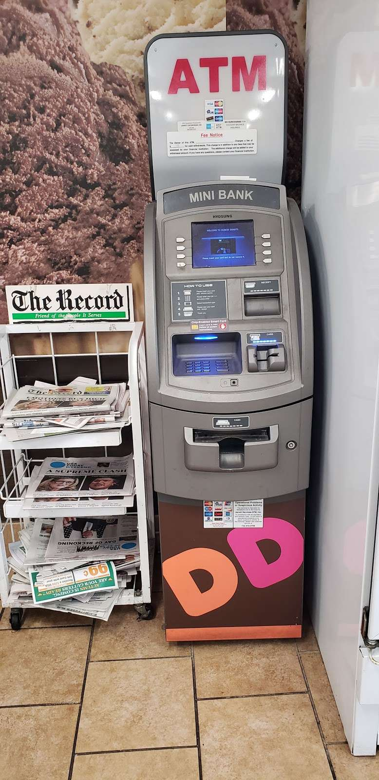 ATM - Hyosung - atm  | Photo 1 of 1 | Address: Unnamed Road, Lodi, NJ 07644, USA