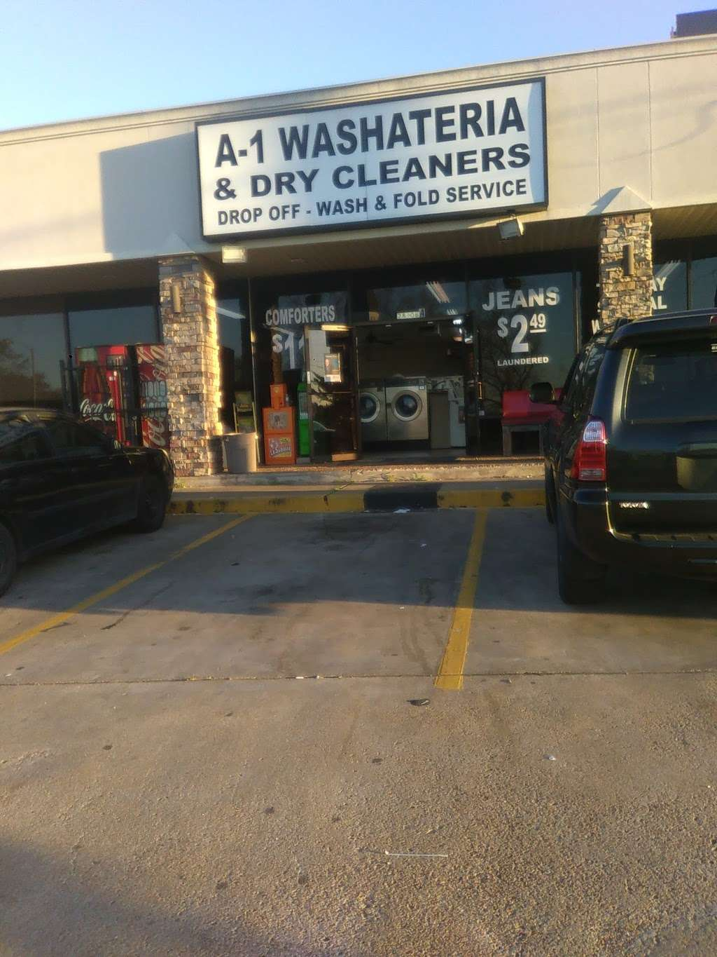 A-1 Washateria and dry cleaners - laundry  | Photo 8 of 10 | Address: 28106 Heidi Ln, Tomball, TX 77375, USA | Phone: (281) 357-0678