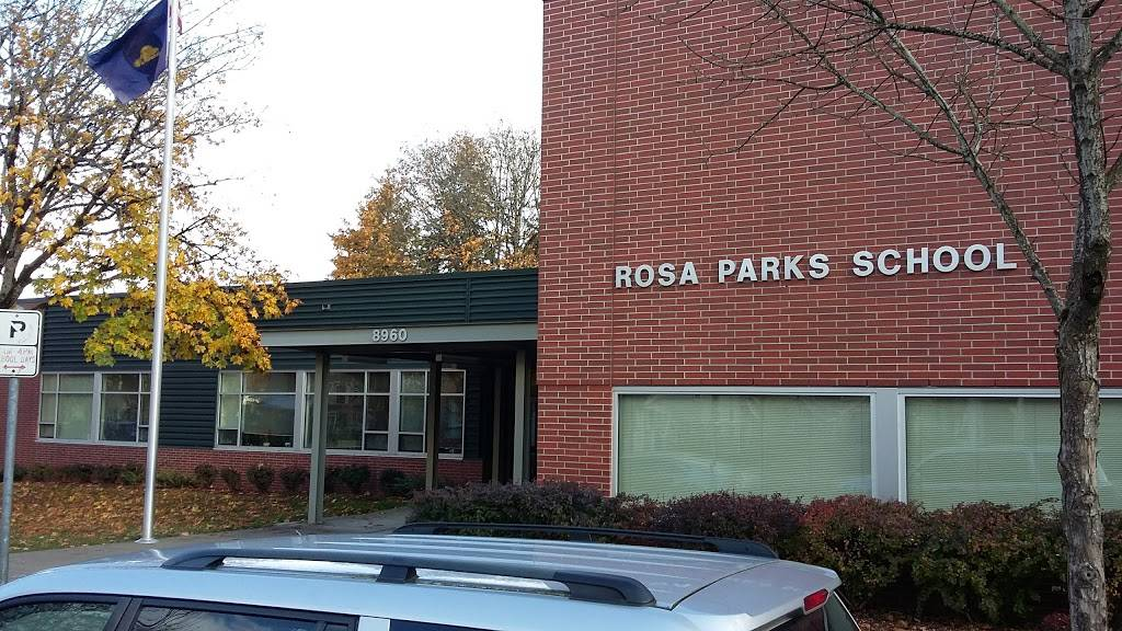 Rosa Parks Elementary School - school  | Photo 1 of 5 | Address: 8960 N Woolsey Ave, Portland, OR 97203, USA | Phone: (503) 916-6250