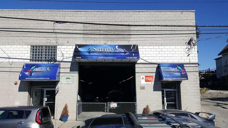 Sunnys Autobody, LLC - car repair    Photo 1 of 8   Address: 4151 Boston Road #A, Bronx, NY 10466, USA   Phone: (718) 325-5300