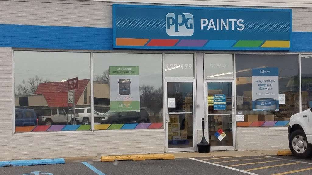 Dover Paint Store Ppg Paints Home Goods Store 177 179