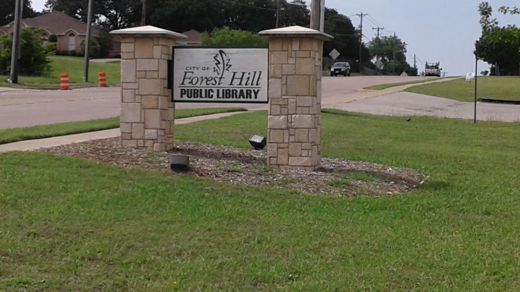 Forest Hill Public Library - library    Photo 3 of 4   Address: 6962 Forest Hill Dr, Forest Hill, TX 76140, USA   Phone: (817) 551-5354